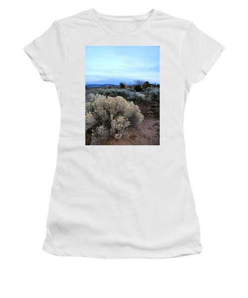 A Desert View After Sunset Women's T-Shirt (Athletic Fit)