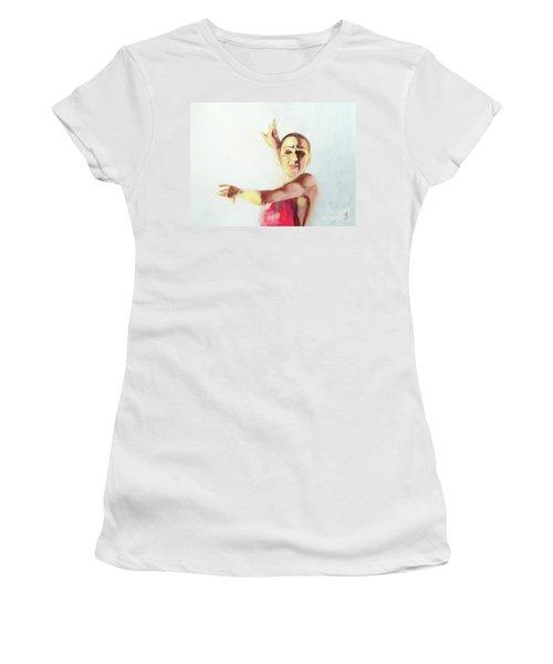 A Flamenco Dancer Women's T-Shirt (Athletic Fit)