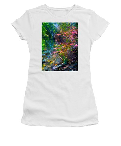 Abstract 86 Women's T-Shirt (Athletic Fit)
