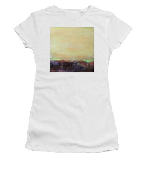 Abstract Landscape - Rose Hills Women's T-Shirt (Athletic Fit)