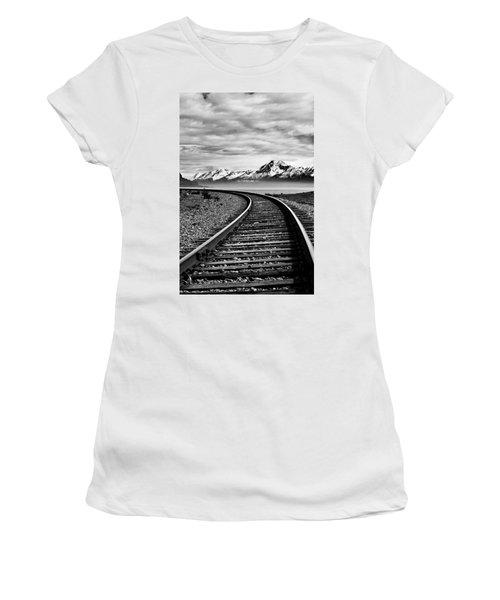 Alaska Railroad Women's T-Shirt (Athletic Fit)