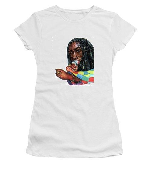 Alpha Blondy Women's T-Shirt (Athletic Fit)