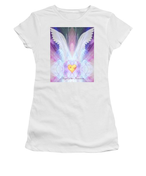 Angel Of The Innocent Women's T-Shirt (Athletic Fit)