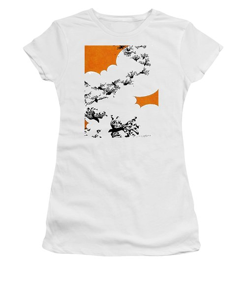 As The Crows Fly Women's T-Shirt (Athletic Fit)