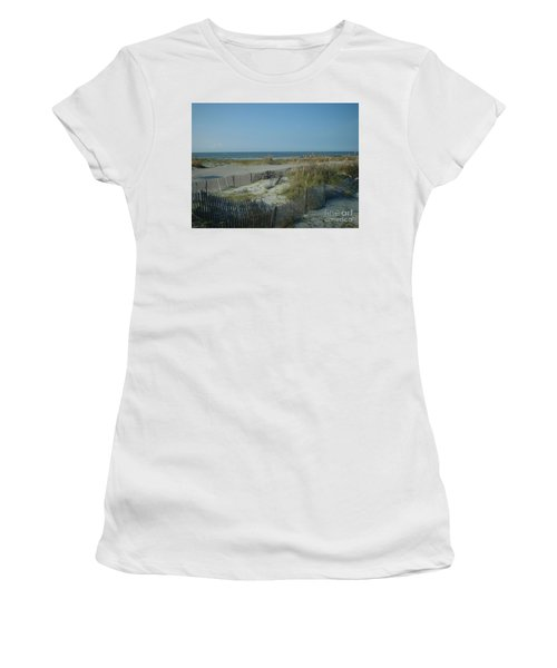 Barely Fenced Women's T-Shirt (Athletic Fit)