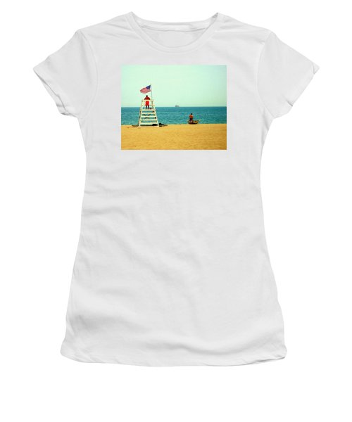 Baywatch Women's T-Shirt (Athletic Fit)