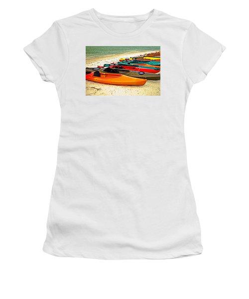 Beach Kayaks Women's T-Shirt