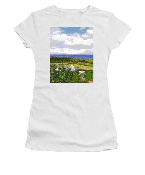Block Island Sea Chairs Women's T-Shirt