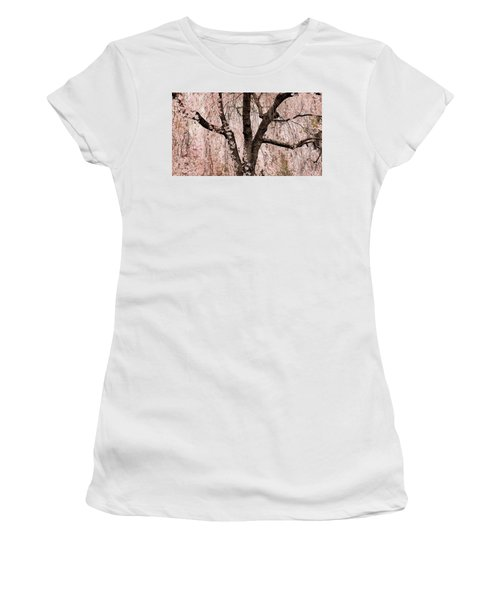 Blossom Rain Women's T-Shirt (Athletic Fit)