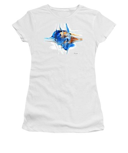 Blue Abstraction Women's T-Shirt