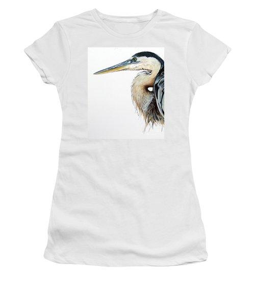 Blue Heron Study Women's T-Shirt