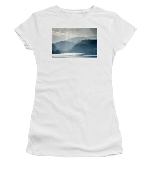 Breaking Through The Mist Women's T-Shirt (Athletic Fit)