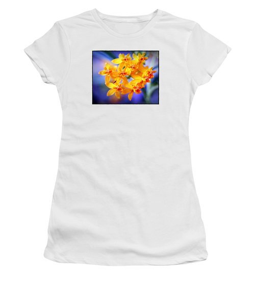 Butterfly Weed Women's T-Shirt (Junior Cut) by Judi Bagwell