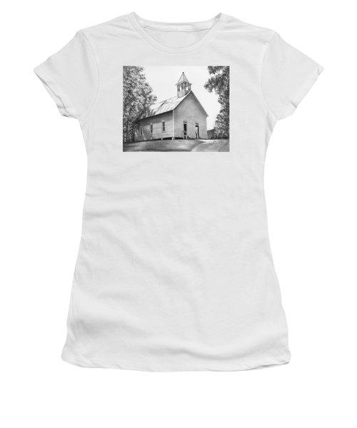 Cades Cove Methodist Church Women's T-Shirt (Athletic Fit)