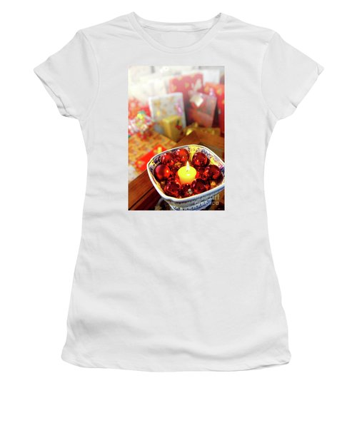Candle And Balls Women's T-Shirt
