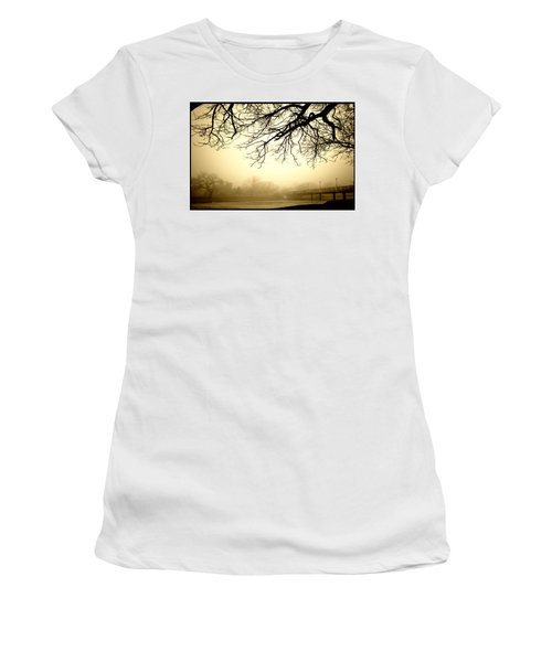 Castle In The Fog Women's T-Shirt (Athletic Fit)