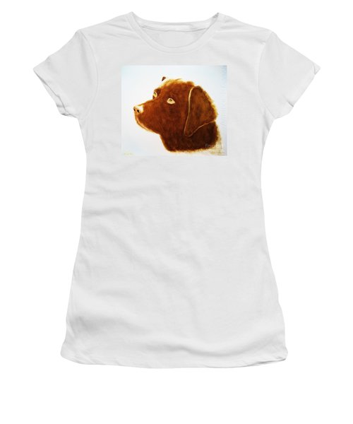 Chocolate Labrador  Women's T-Shirt
