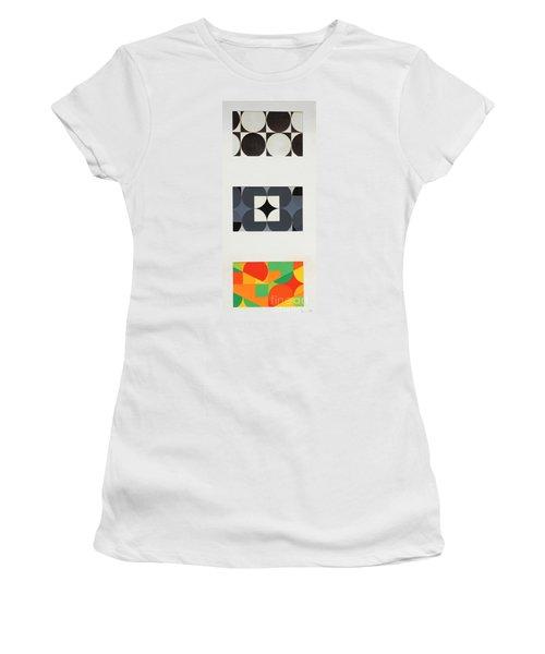 Circle Trio Women's T-Shirt (Athletic Fit)