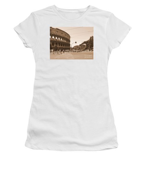 Colosseum In Sepia Women's T-Shirt