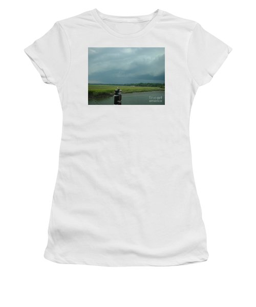 Coming On  Women's T-Shirt (Athletic Fit)