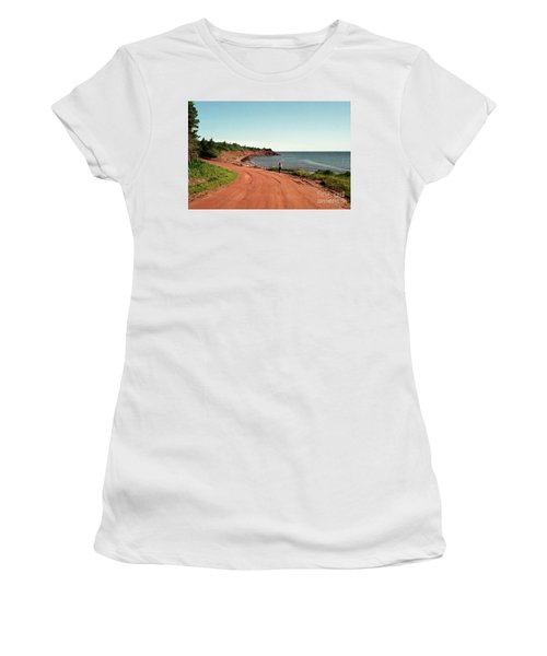 Contemplation Women's T-Shirt (Junior Cut) by Kathy McClure