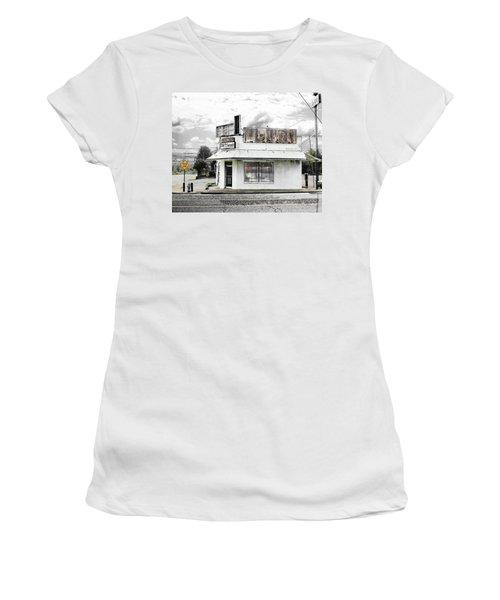 Women's T-Shirt (Junior Cut) featuring the photograph Dead End by Lizi Beard-Ward