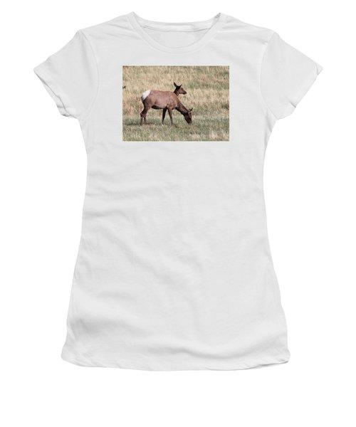 Double Vision Women's T-Shirt (Athletic Fit)