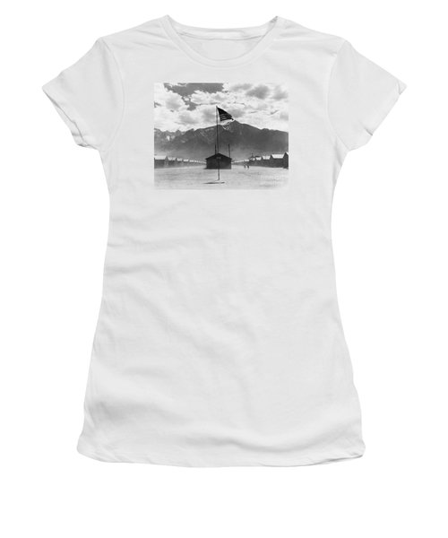 Dust Storm At War Relocation Center Women's T-Shirt