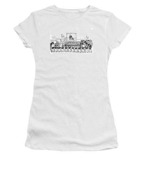 Execution Of John Brown, American Women's T-Shirt