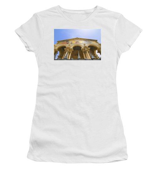facade of Church of all Nations Jerusalem Women's T-Shirt