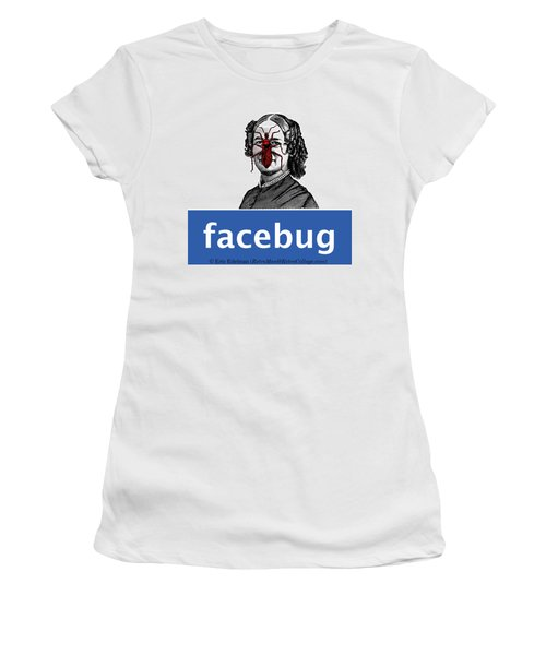 Facebug For Women Women's T-Shirt (Athletic Fit)