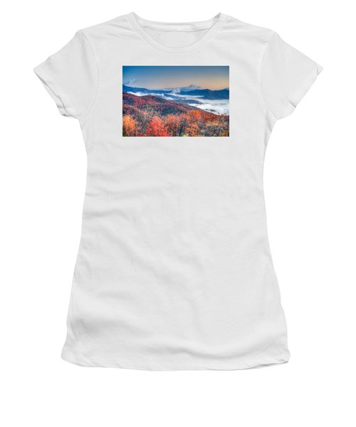 Fall Fog 1 Women's T-Shirt (Athletic Fit)