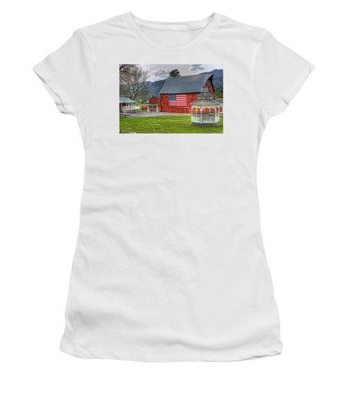 Feeling Patriotic Women's T-Shirt (Athletic Fit)