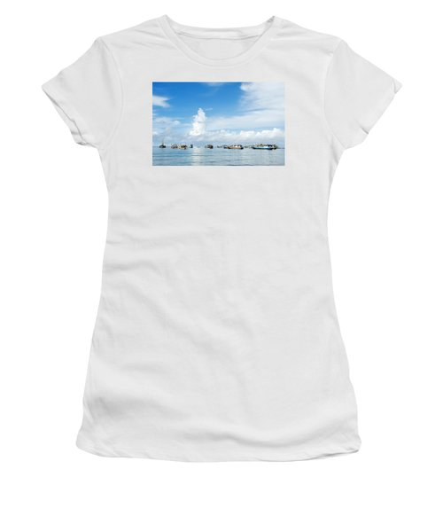 Fishing Boat Women's T-Shirt