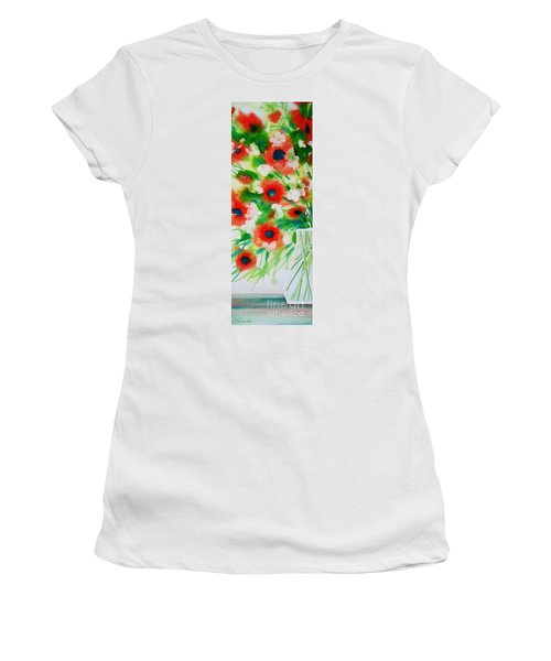 Flowers In A Glass Women's T-Shirt