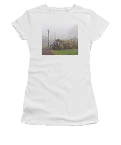 Foggy Morn Women's T-Shirt (Athletic Fit)