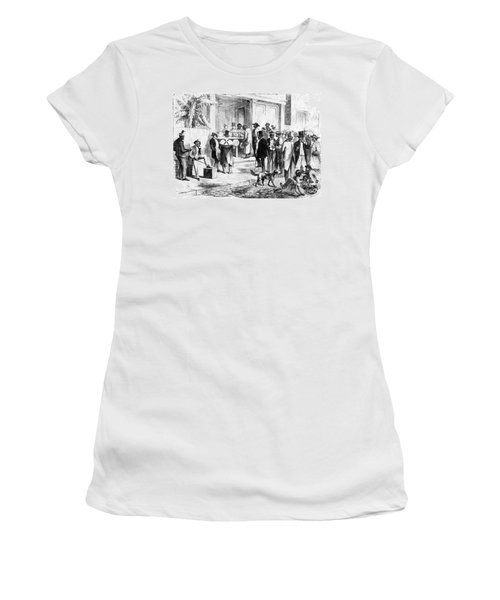 Freedmen Voting, 1867 Women's T-Shirt