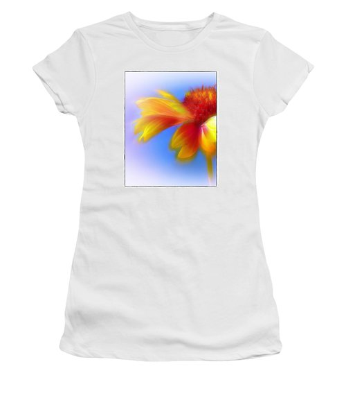 Fresh As A Daisy Women's T-Shirt (Junior Cut) by Judi Bagwell