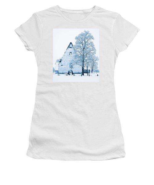 Frosty Ruins Women's T-Shirt
