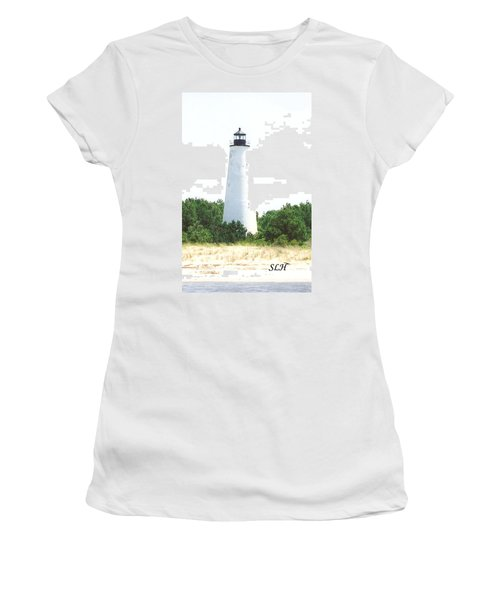George Town Lighthouse Women's T-Shirt (Athletic Fit)