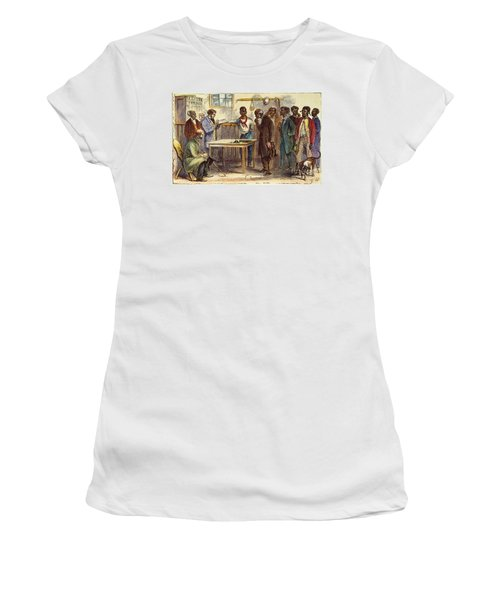 Georgia: Voters, 1867 Women's T-Shirt