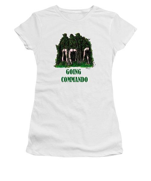 Going Commando Women's T-Shirt