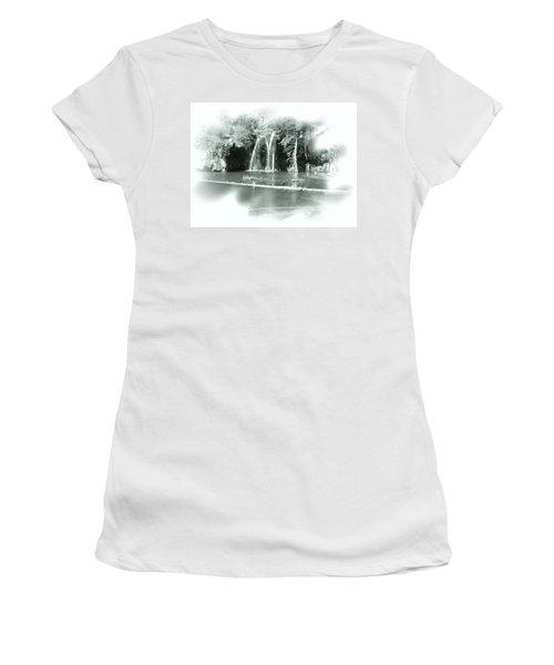 Hanging Lake Women's T-Shirt (Athletic Fit)