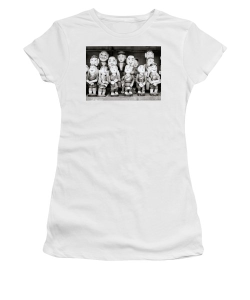 Hanoi Water Puppets Women's T-Shirt (Athletic Fit)