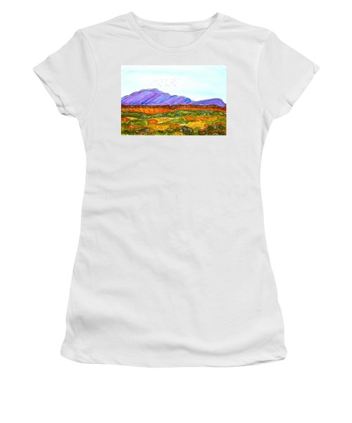 Hills That Nourish Women's T-Shirt (Athletic Fit)