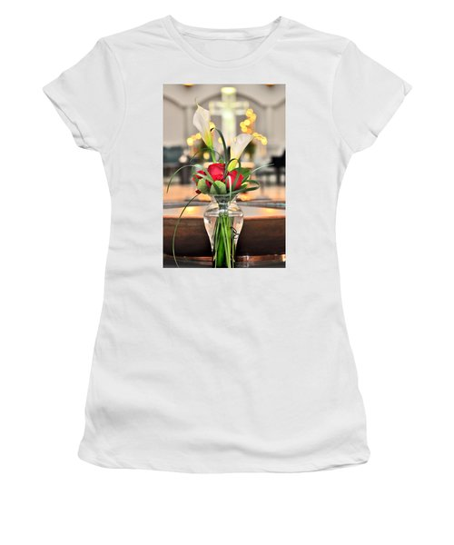 Holy Water Women's T-Shirt (Athletic Fit)