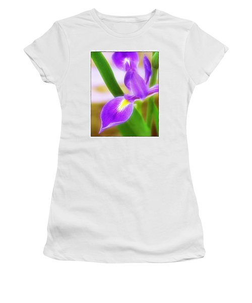 Iris On Pointe Women's T-Shirt (Junior Cut) by Judi Bagwell