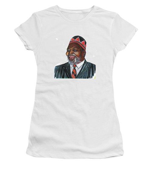 Jomo Kenyatta Women's T-Shirt (Athletic Fit)