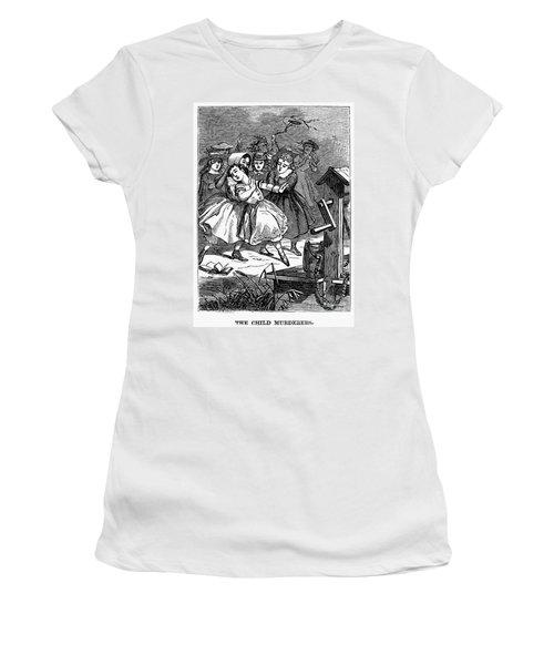 Juvenile Crime, 1868 Women's T-Shirt