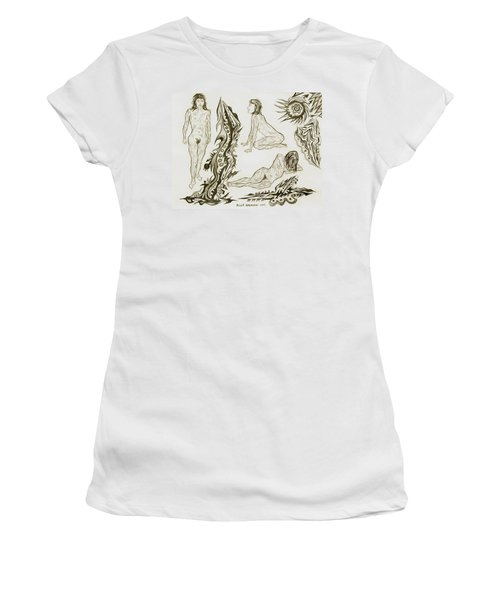 Live Nude 17 Female Women's T-Shirt (Athletic Fit)
